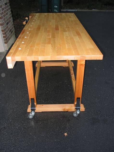 learn bench build this woodworker s workbench to learn mortise tenon
