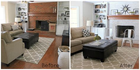 room makeover before and after neutral family room makeover progress erin spain