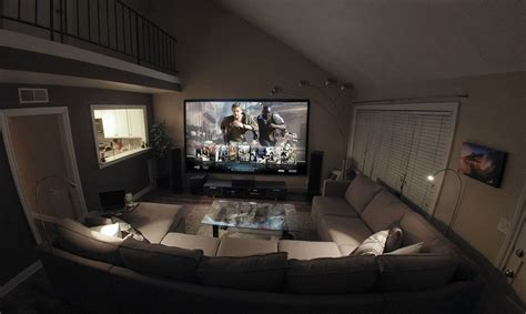 home theater living room hybrid hometheater