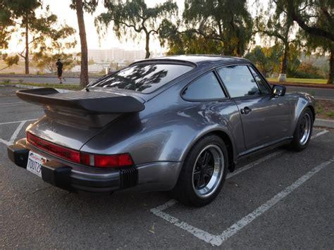 Porsche 911 Turbo 1986 by 1986 Porsche 911 Turbo Coupe For Sale On Bat Auctions