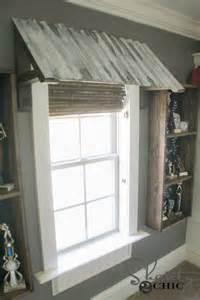 diy door awning diy corrugated metal awning shanty 2 chic