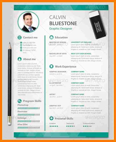 attractive resume template 5 attractive resume sles park attendant