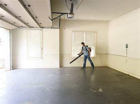 removing paint from garage floor gurus floor