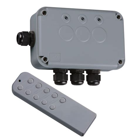 outdoor remote light switch kit knightsbridge ip663g outdoor remote controlled wireless
