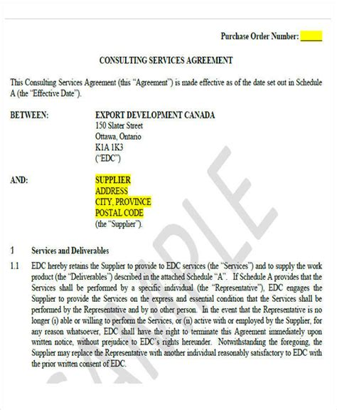 consulting agreement forms 43 simple agreement forms sle templates