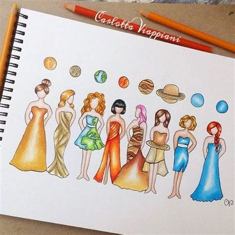 design instagram system design solar system princess who s your fave by tottadraws