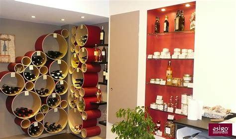 mobili in cartone riciclato gallery portabottiglie esigo 8