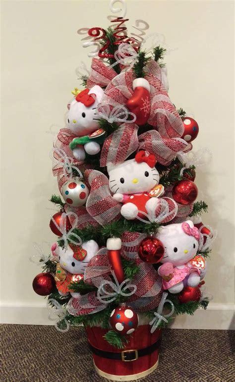 25 unique hello kitty christmas tree ideas on pinterest