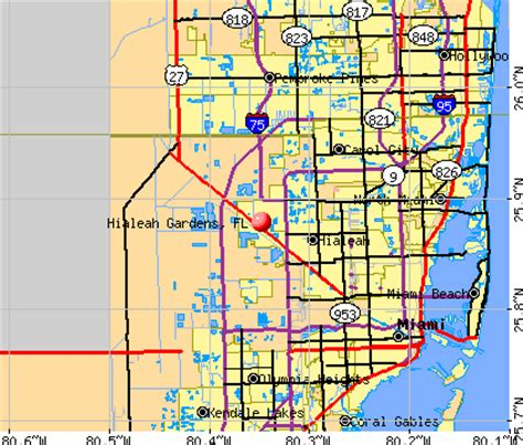 Weather In Hialeah Gardens by Hialeah Gardens Florida Fl 33018 Profile Population