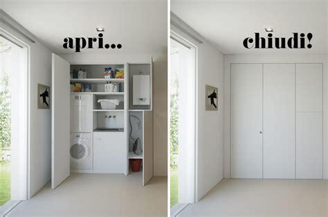 creare armadio a muro l armadio a muro per nascondere lavanderia ripostiglio