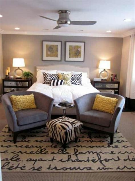 Yellow And Grey Master Bedroom by Black White Gray Yellow Master Bedroom