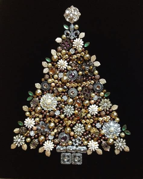 christmas decorations using old jewellery google search