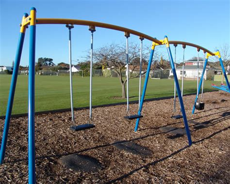 park with swings marewa park playground napier city council