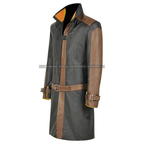 dogs 2 aiden pearce dogs 2 aiden pearce leather costume coat