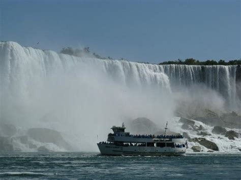 niagara falls boat ride hours lady of the mist photo taken during the boat ride