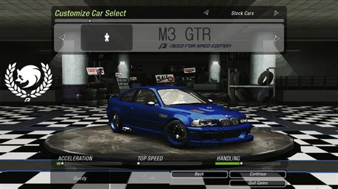 Need For Speed Underground need for speed underground 2 bmw m3 gtr nfs ed nfscars