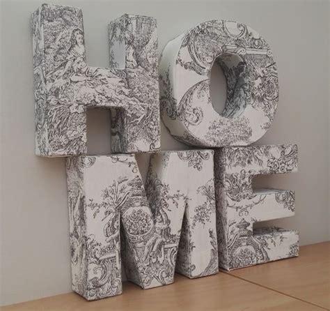 decoracion de letras en carton 3d letras de cart 243 n en 3d para decorar diy y manualidades
