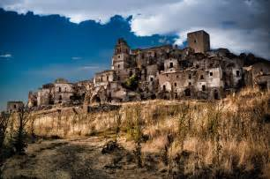 ghost towns craco italy