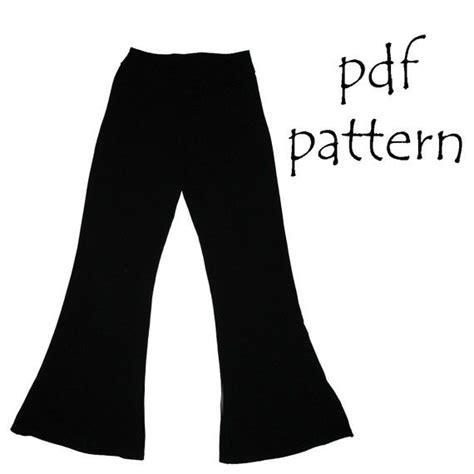 leggings sewing pattern pdf flared leggings and jazz pants pdf sewing pattern leggings