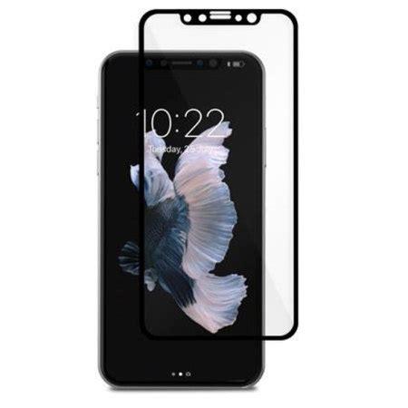 Moshi Ionglass For Iphone X Black 99mo096005 moshi ionglass iphone x tempered glass screen protector black mobilefun polska