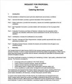catering proposal template 7 download documemts in pdf