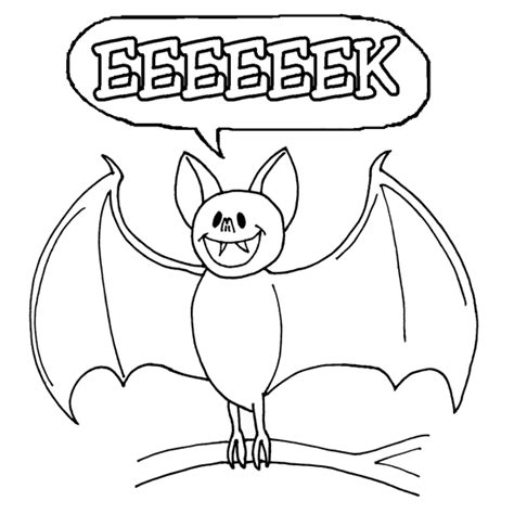halloween bat coloring pages bats cute smile cartoon