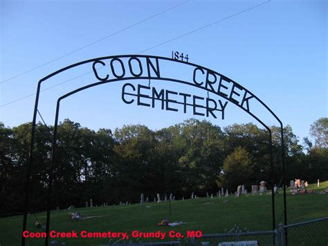 coon cemetery coon creek cemetery