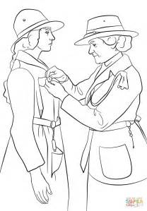 juliette gordon low coloring sheet coloring pages