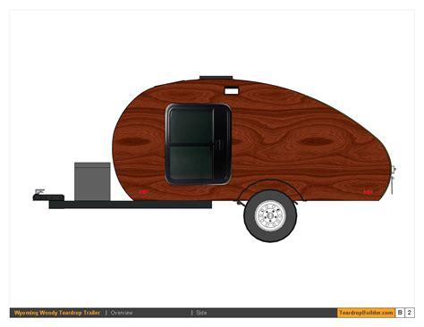 teardrop trailer plans free wyoming woody teardrop trailer plans 05 teardrop builder