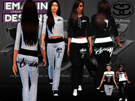 sims 3 urban clothes emagin360 s ladies stussy outfits