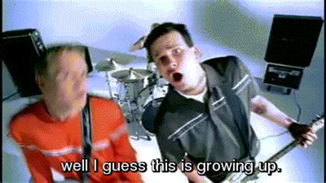 blink 182 dammit growing up dude ranch on