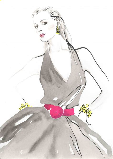 fashion illustration for sale jax barrett fashion illustration giclee print artists illustrators original