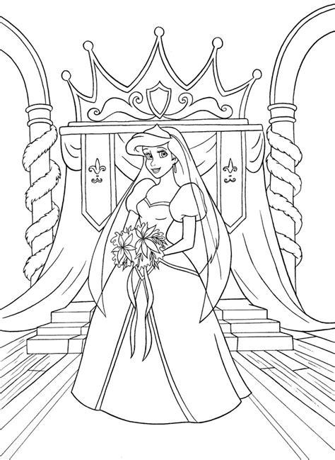 princess ariel coloring pages games walt disney coloring pages princess ariel kleurplaat