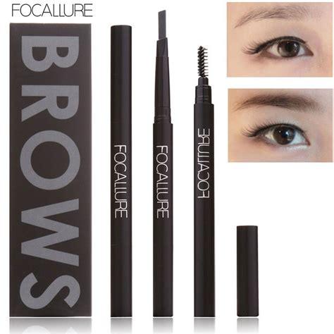 New Pensil Alis Waterproof Brown Asli focallure new makeup eyebrow pencil waterproof lasting eye brow pencil makeup