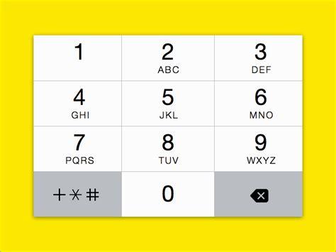 design keyboard app numerical keyboard for apple ios 7 sketch freebie