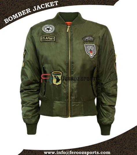 Jaket Bomber Bgsr Green Army army green bomber jacket flight jacket ma 1 varsity bomber jacket buy custom bomber