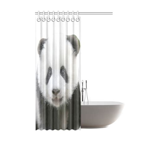panda bear shower curtain panda bear shower curtain 48 quot x72 quot id d396072