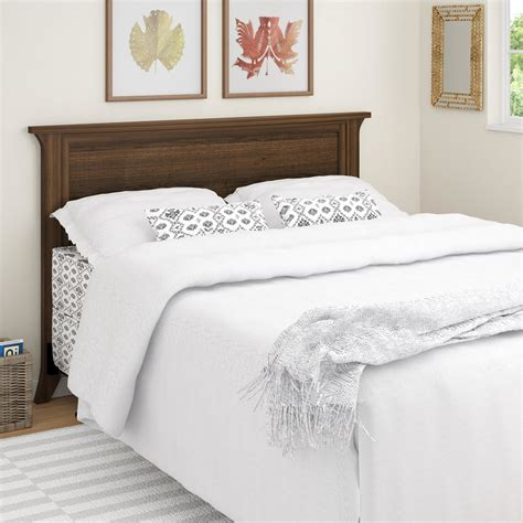 wood headboard full altra oakridge full queen wood headboard reviews wayfair