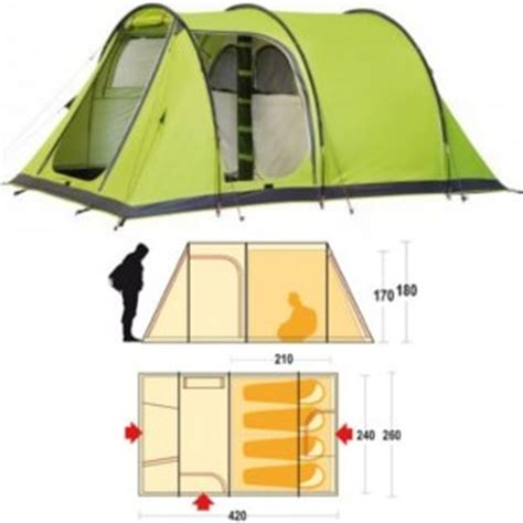 tenda proxes 4 tenda ceggio 4 posti ferrino proxes 4 92138 family