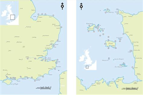 map uk and channel islands jersey guernsey sea kayak guidebook jersey kayak adventures
