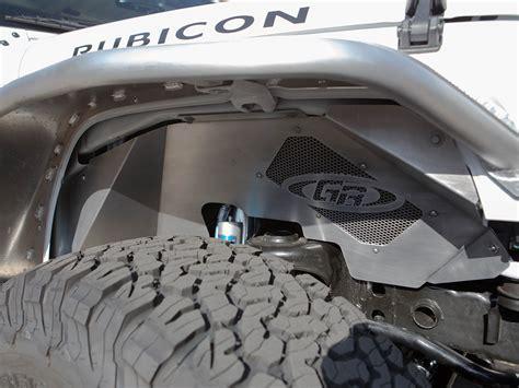 jeep fender flares jk genright aluminum front inner fenders for jeep wrangler jk