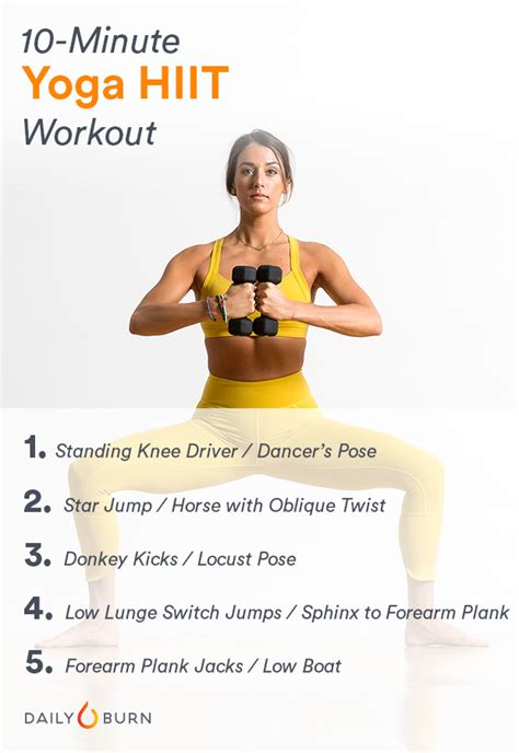 10 minute arm workout healthcom your 10 minute yoga hiit workout for a stronger body and mind