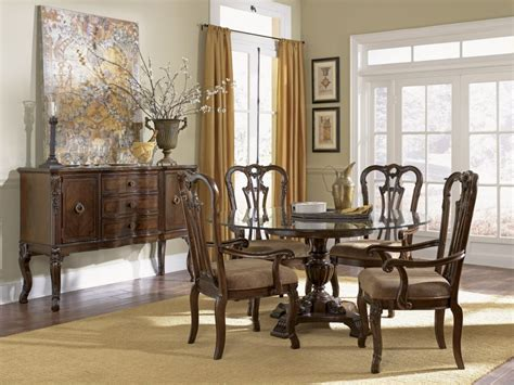 classic dining room table set bring back past impression