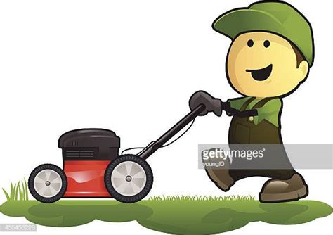 worlds  lawn mower stock illustrations getty images