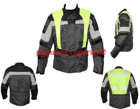 Motorrad Fahren Warnweste by Motorrad Textil Sicherheitsjacke Mit Warnweste