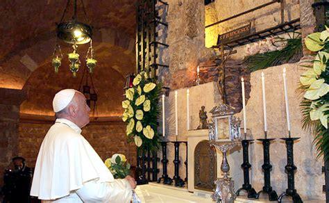 casa papa assisi quot usemos misericordia con nuestra casa 250 n quot papa francisco