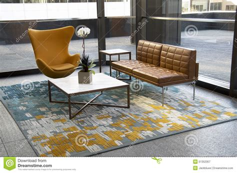 building office furniture modern office building lobby furniture stock photo image 51352357