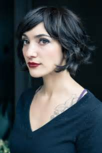 parisian bob hairstyle great layered bob hair pinterest bobs wavy bobs and