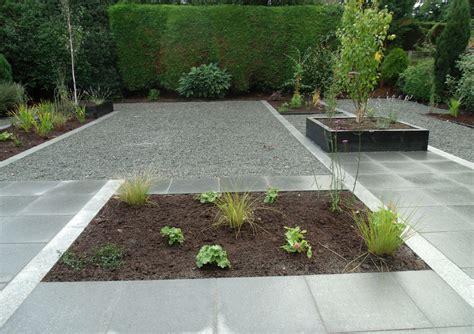 landscaped garden ideas granite patio landscaped garden ashwood services