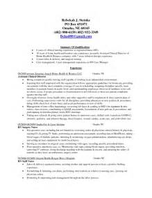 Nursing House Supervisor Description by Assistant Manager Resume